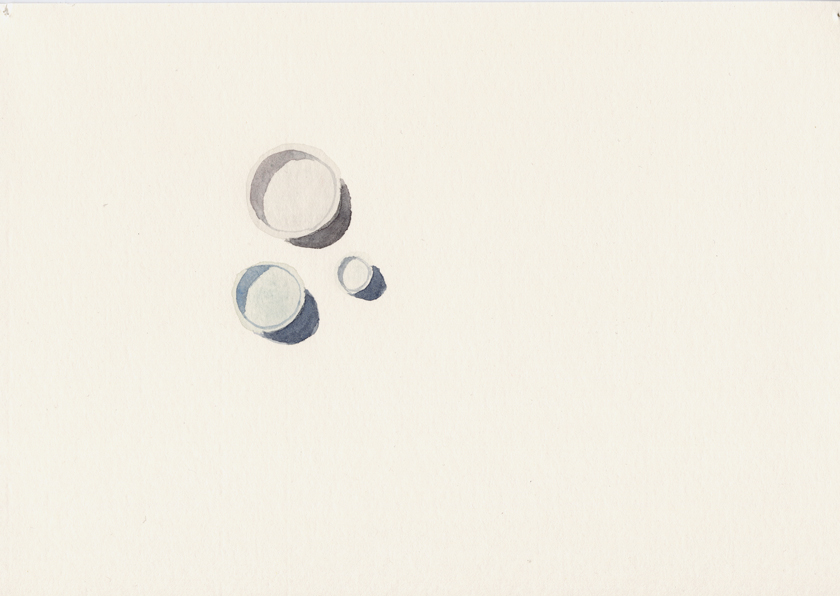 Gunilla Hansson, REFINE, 2013, 29.7x21 cm, watercolour on paper.