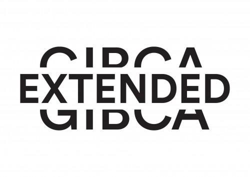 GIBCA Extended logo - svart